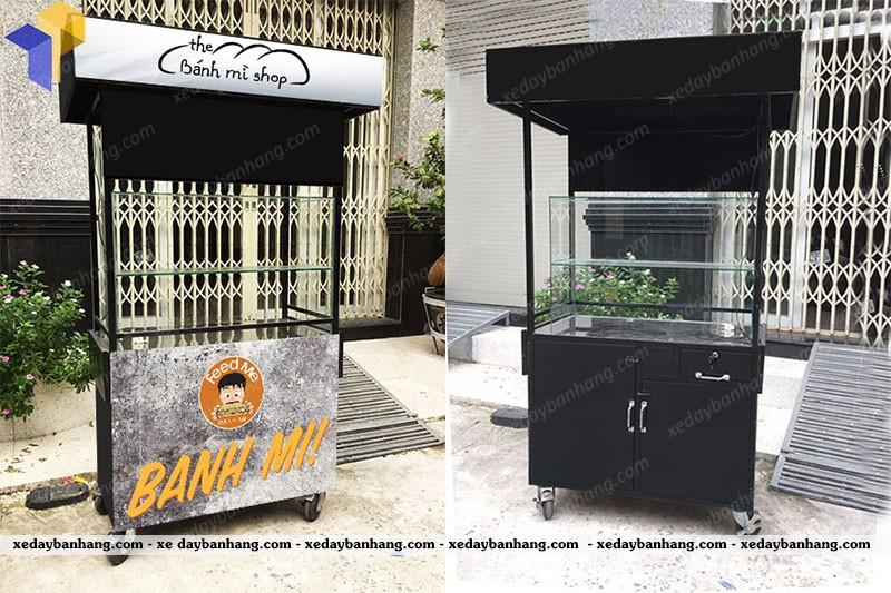 Xe bán bánh mì Sài Gòn