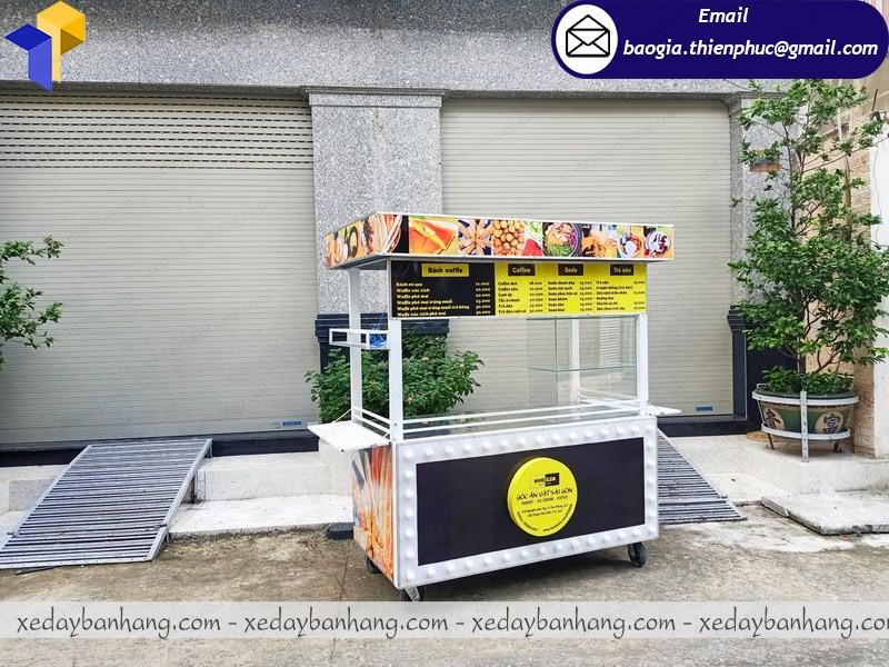 bán quầy bán đồ ăn vặt