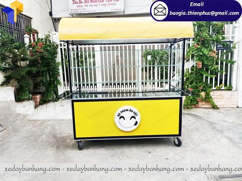 bán xe thức ăn vặt giá rẻ