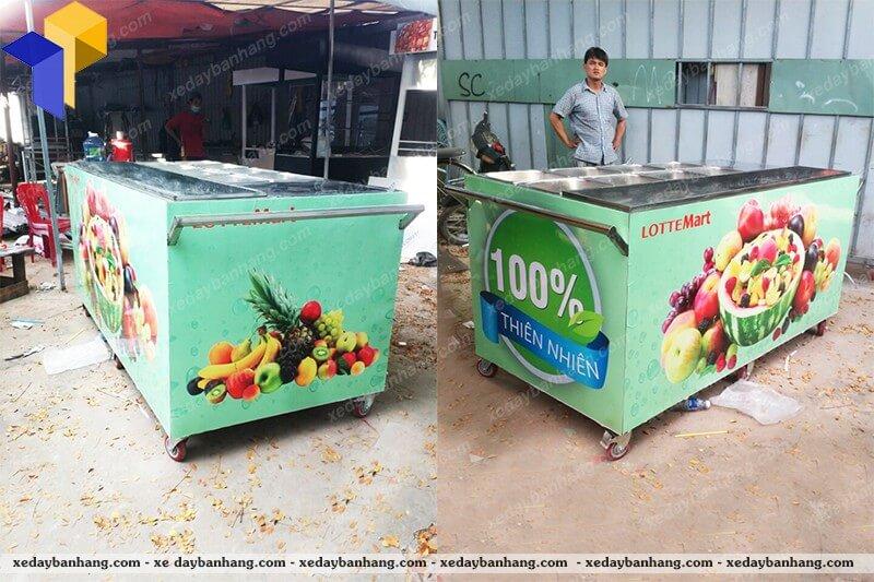 chuyên đóng xe bán trái cây