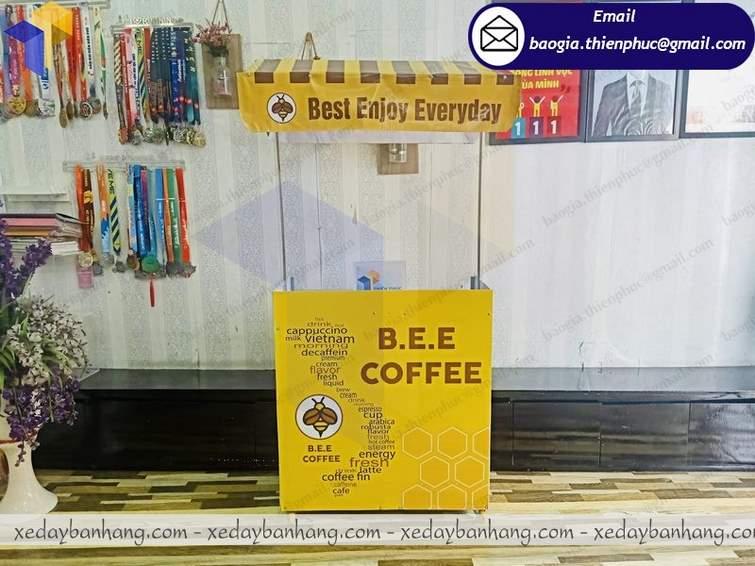 Giá quầy take away coffe di động