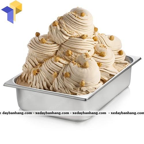 khay inox đựng kem hcm