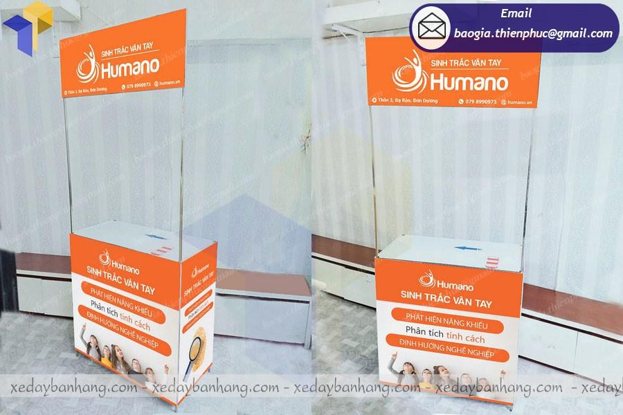 quầy bán hàng di động humano