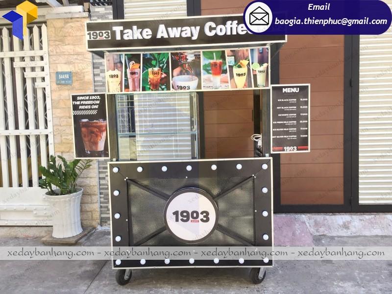 thiết kế xe cafe theo yêu cầu