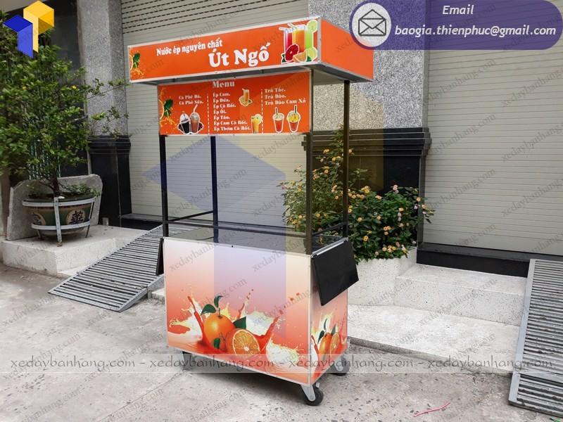 tủ bán nước cam