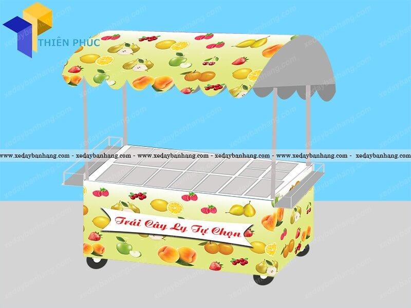 xe bán hoa quả