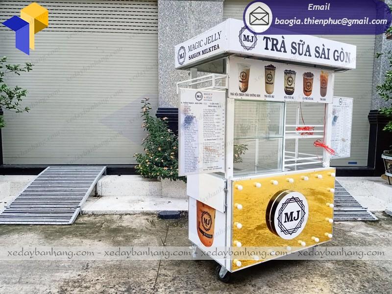 xe bán trà sữa giá bao nhiêu