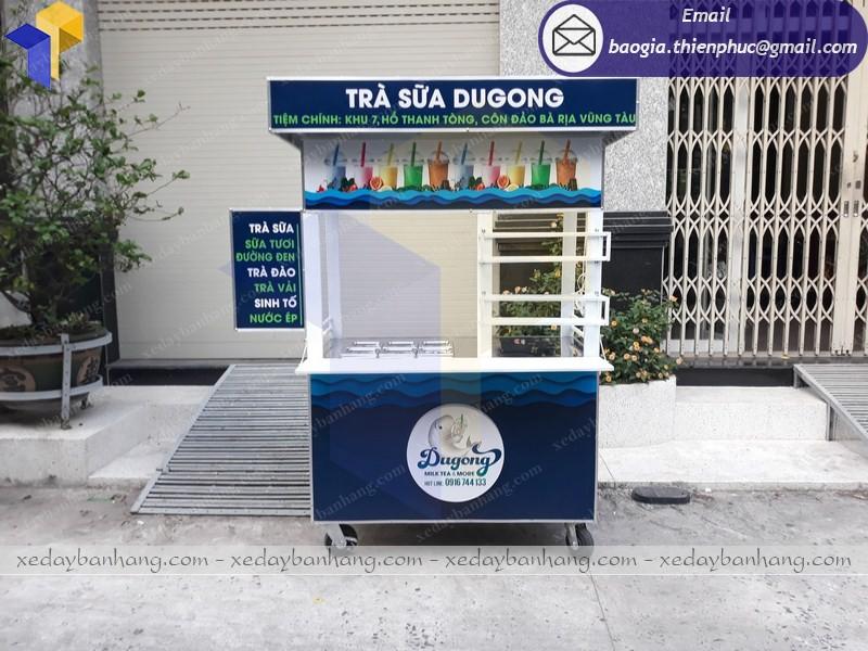 xe bán trà sữa hcm giá rẻ