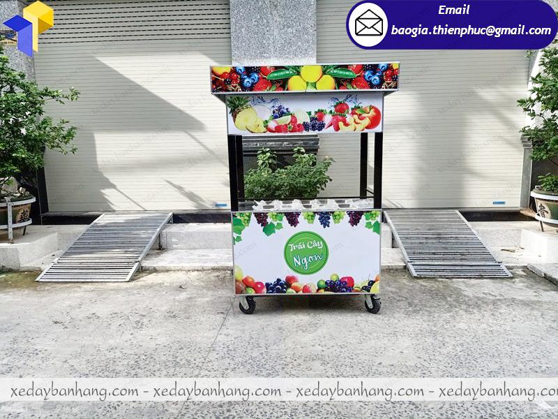 xe bán trái cây tô hcm