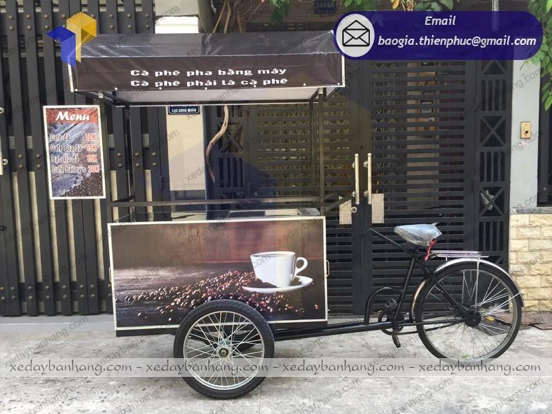 xe đạp bán hàng rong