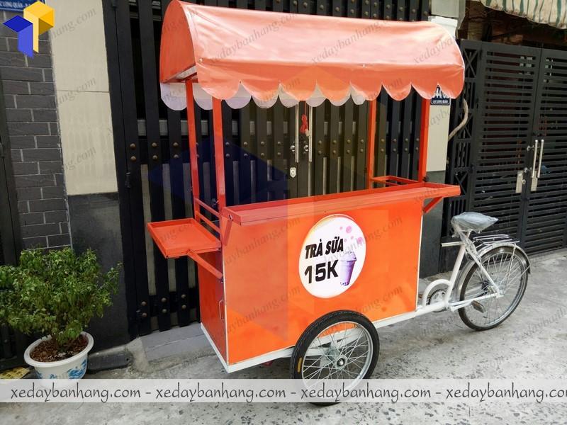 xe đạp bán trà sữa hcm