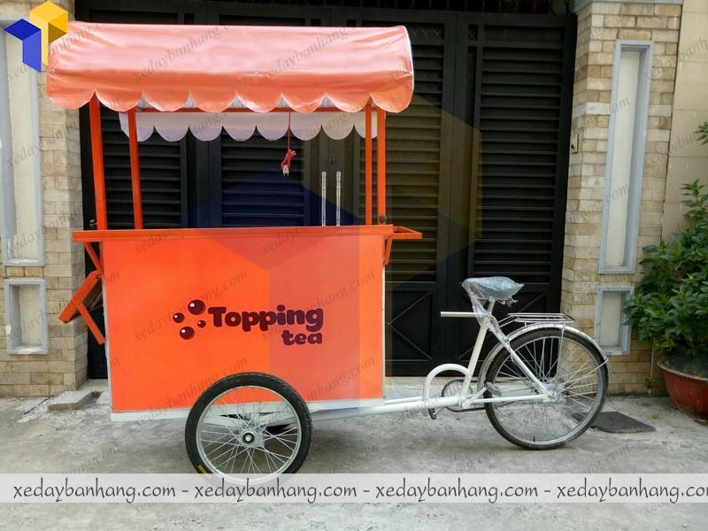 xe đạp bán trà sữa tại hcm