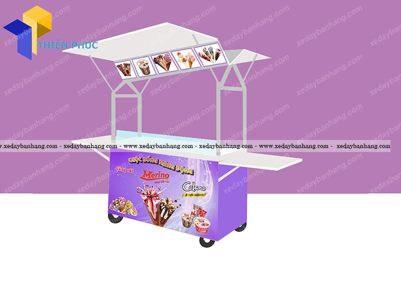 xe kem inox bền đẹp