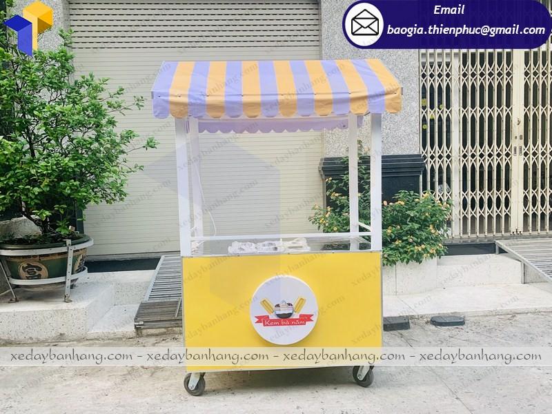 xe đẩy bán kem giá rẻ